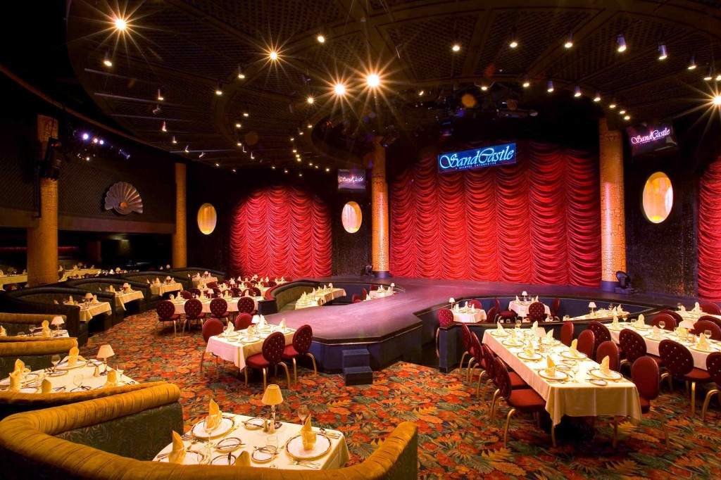 The SandCastle Dinner Theatre showroom located in the Hyatt Regency Saipan.